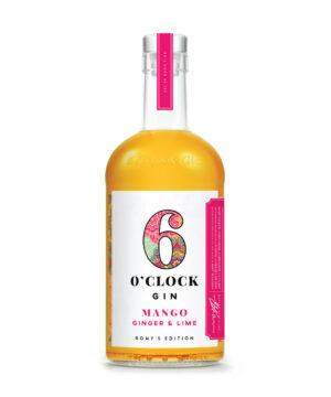6 O'Clock Mango, Ginger & Lime Gin - The Gin Stall