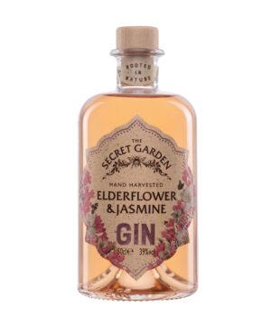 The Secret Garden Elderflower & Jasmine Gin - The Gin Stall